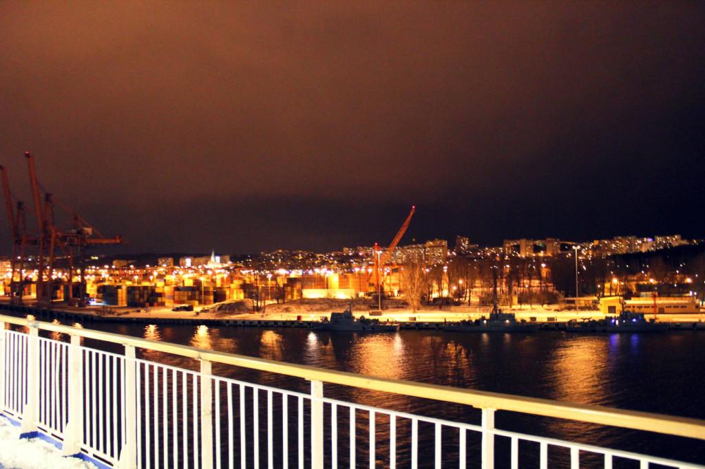 Opuszczamy Gdynię