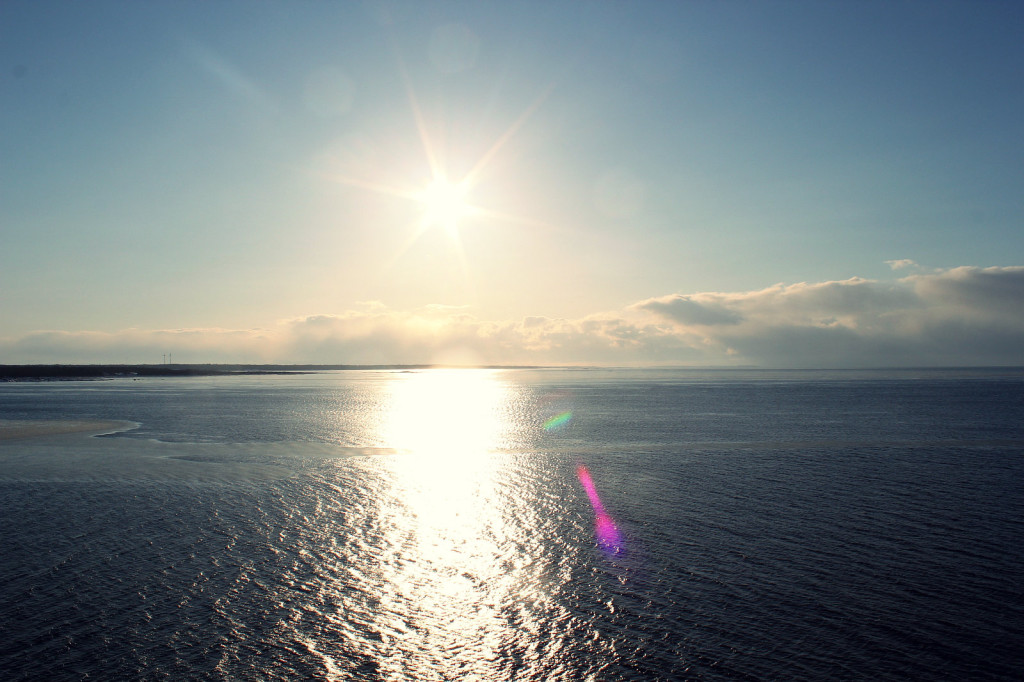 Gdynia - Karlskrona, dopływamy do Szwecji