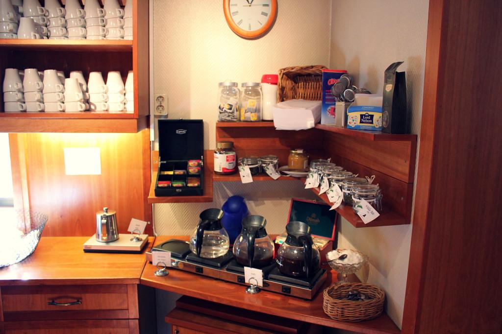 Szwecja, Karlskrona: hotel Conrad, kuchnia