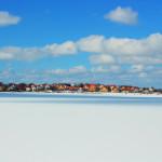 Karlskrona - panorama z przyhotelowego spacerniaka