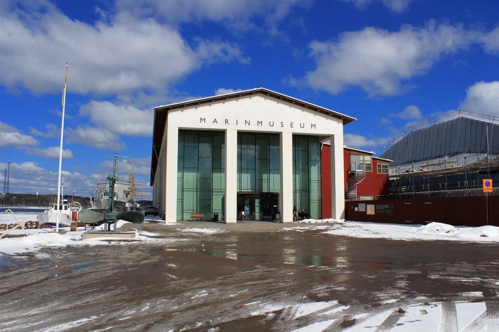 Szwecja, Karlskrona: Marinmuseum – Muzeum Marynarki Wojennej