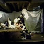 Szwecja, Karlskrona: Marinmuseum, ratujemy rannego