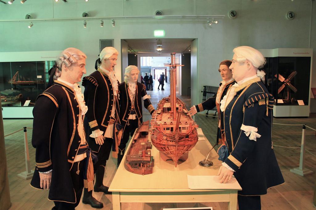 Szwecja, Karlskrona: Marinmuseum, naradzamy się!