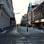 Szwecja, Karlskrona: jedna z uliczek w okolicach centrum