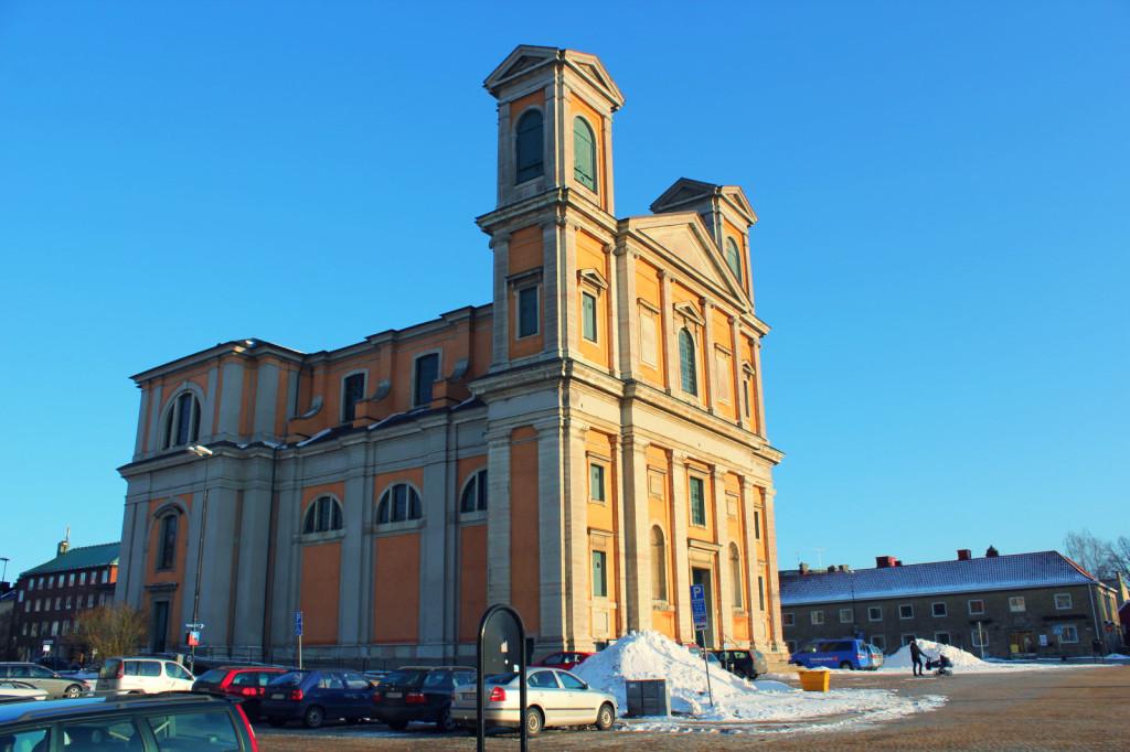 Szwecja, Karlskrona: kościół w centrum miasta