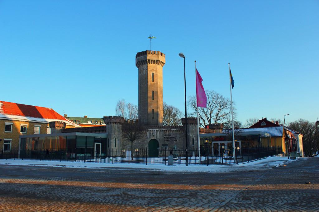 Szwecja, Karlskrona: mała forteca w centrum miasta