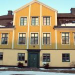 Szwecja, Karlskrona: specyficzne, kolorowe domki
