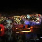 Porto Cristo: jaskinia Cuevas dels Hams; przedstawienie na podwodnym jeziorze