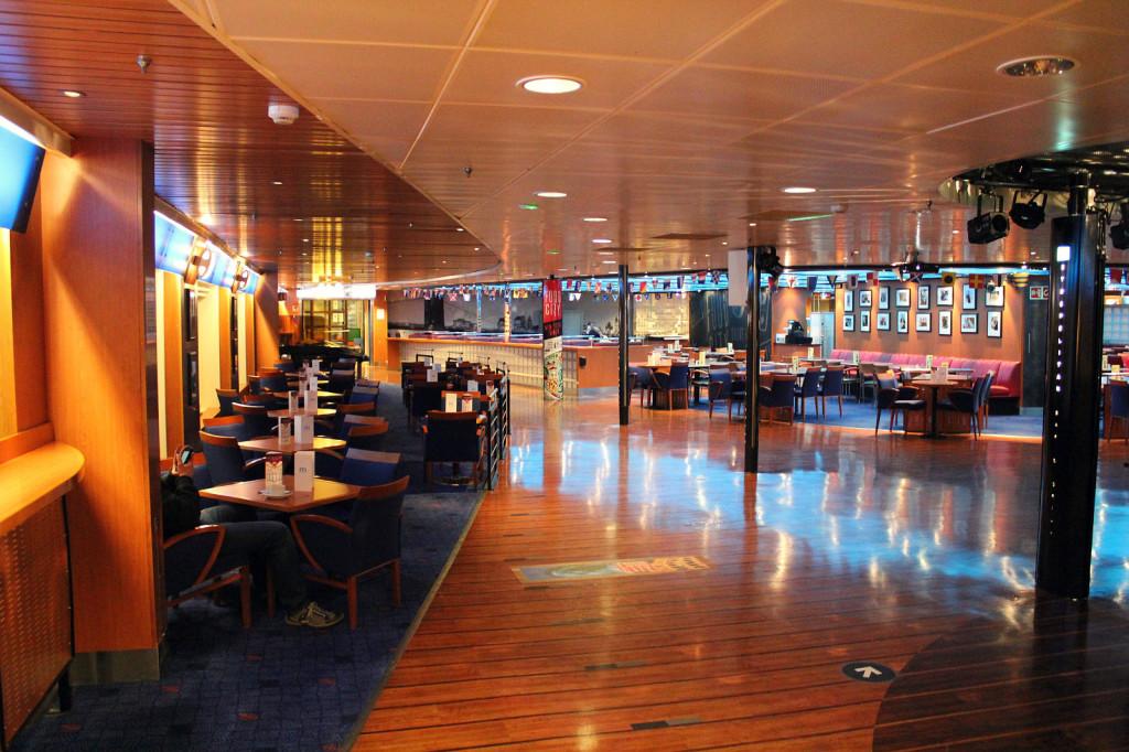 Stena Line - wnętrze statku