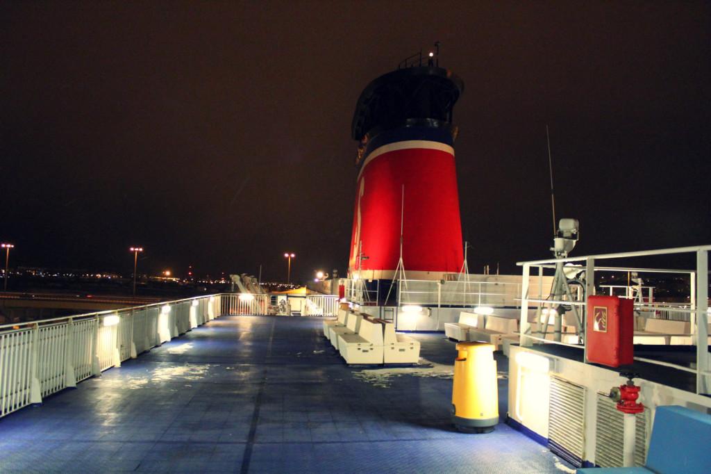 Ostatnie piętro statku :)