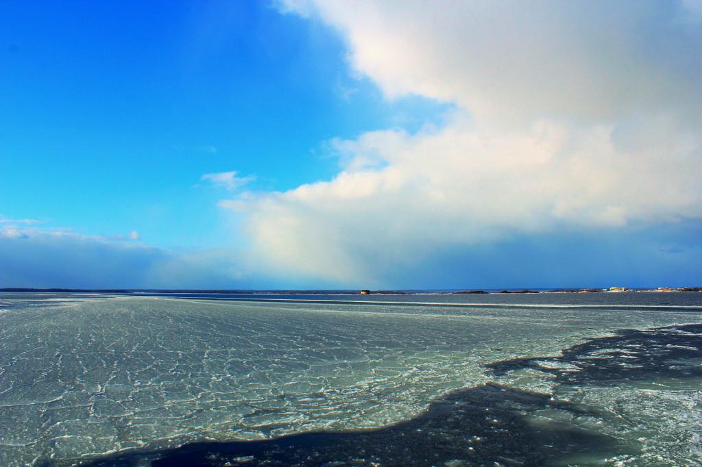 Aspö, Szwecja - na pełnym morzu