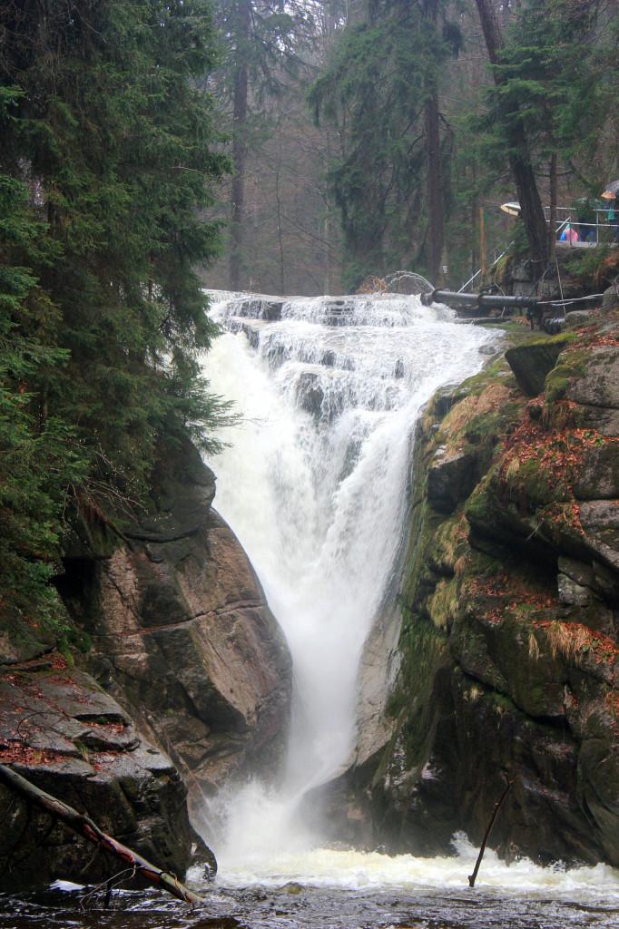 Szklarska Poręba: wodospad Szklarki
