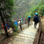 Szklarska Poręba: w drodze do wodospadu Kamieńczyka