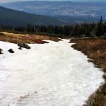 Szklarska Poręba: na trasie między Łabskim Szczytem, a Śnieżnymi Kotłami