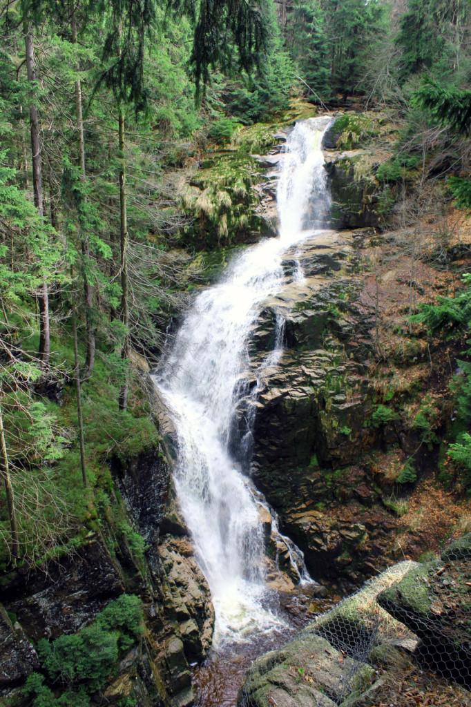 Szklarska Poręba: wodospad Kamieńczyka
