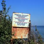 Bułgaria, Albena: uwaga na spadające skały...