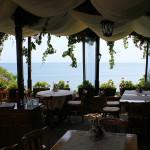 Bułgaria, Nesebyr: romantyczna kawiarnia z widokiem na Morze Czarne