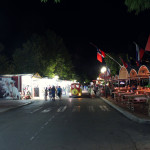 Bułgaria, Albena: w nocy na deptaku