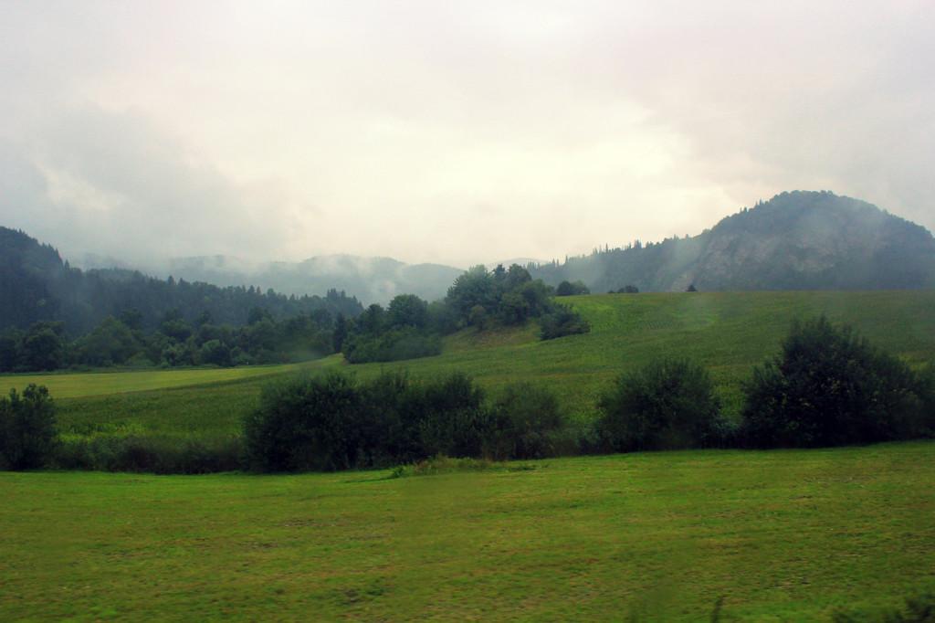 Słowacja: przez kilkadziesiąt kilometrów tylko góry i piękne widoki...
