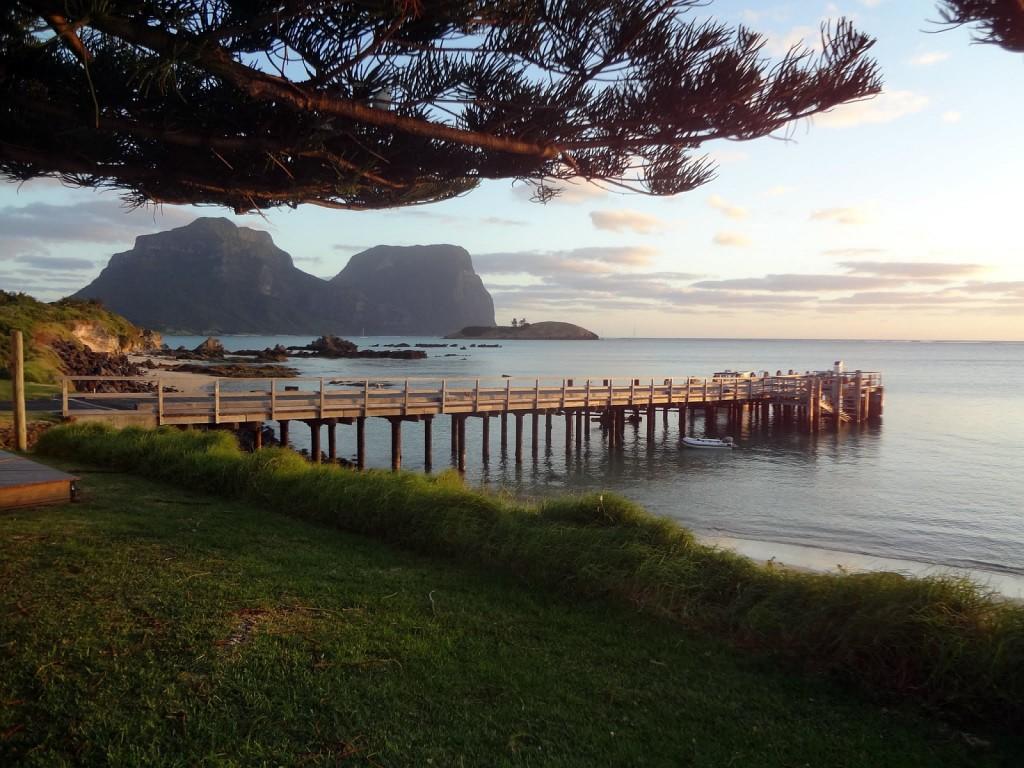 Lord Howe: Island Jetty; autor zdjęcia: Inas66