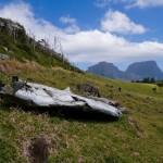 Lord Howe - wraki rozbitego samolotu; autor zdjęcia: Fanny Schertzer