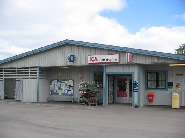 ICA Drottningskär - niewielki market na wyspie Aspö, Szwecja