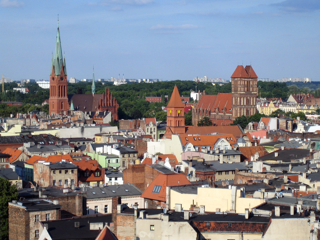 Toruń; autor zdjęcia: Ainunau (http://www.flickr.com/photos/martinko/1393255678/)