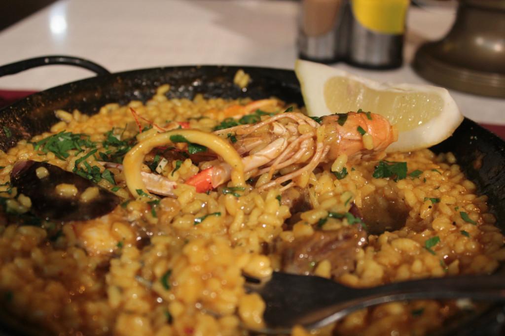 Hiszpania, Majorka: paella z homarem