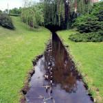 Toruń; park przy placu Rapackiego