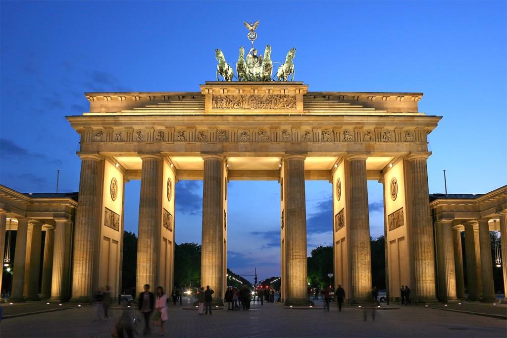 Berlin: brama Brandenburska; autor zdjęcia: Thomas Wolf