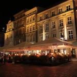 Poznań: Stary Rynek w nocy