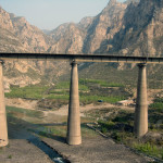 Kolej transsyberyjska: jeden z mostów, Chiny. Źródło zdjęcia: http://www.flickr.com/photos/mikechu/3219603040/