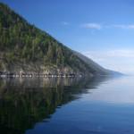 Kolej transsyberyjska: jezioro Bajkał. Źródło zdjęcia: http://www.flickr.com/photos/gabdurakhmanov/3636081210/