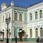 Kolej transsyberyjska: Irkuck, stacja. Źródło zdjęcia: http://www.flickr.com/photos/14589121@N00/4660333167/