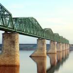 Kolej transsyberyjska: most nad rzeką Kama. Źródło zdjęcia: http://en.wikipedia.org/wiki/File:Prokudin-Gorskii-25.jpg