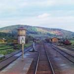 Kolej transsyberyjska. Źródło zdjęcia: http://en.wikipedia.org/wiki/File:TrainStation.jpeg