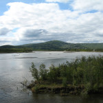 Autostrada Panamerykańska: Chena River, Alaska, USA; źródło zdjęcia: http://www.flickr.com/photos/dmcdevit/2797201479/