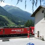 Szwajcaria: Glacier Express; autor zdjęcia: Marcel Marchon