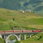Szwajcaria: Glacier Express; źródło zdjęcia: http://www.flickr.com/photos/19362834@N05/3712000537/