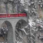 Szwajcaria: Glacier Express; autor zdjęcia: Martha de Jong-Lantink