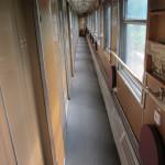 Kolej transsyberyjska: wagon, klasa ekonomiczna. Źródło zdjęcia: http://www.flickr.com/photos/12377708@N04/7489185892/