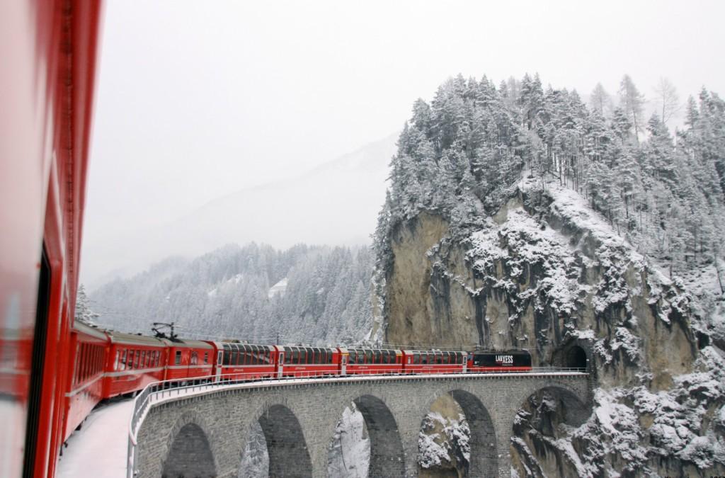 Szwajcaria: Glacier Express; autor zdjęcia: Germán Saavedra Rojas