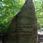Wielkopolski Park Narodowy - Głaz leśników