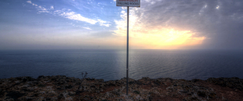 Dingli Cliffs – na skraju świata