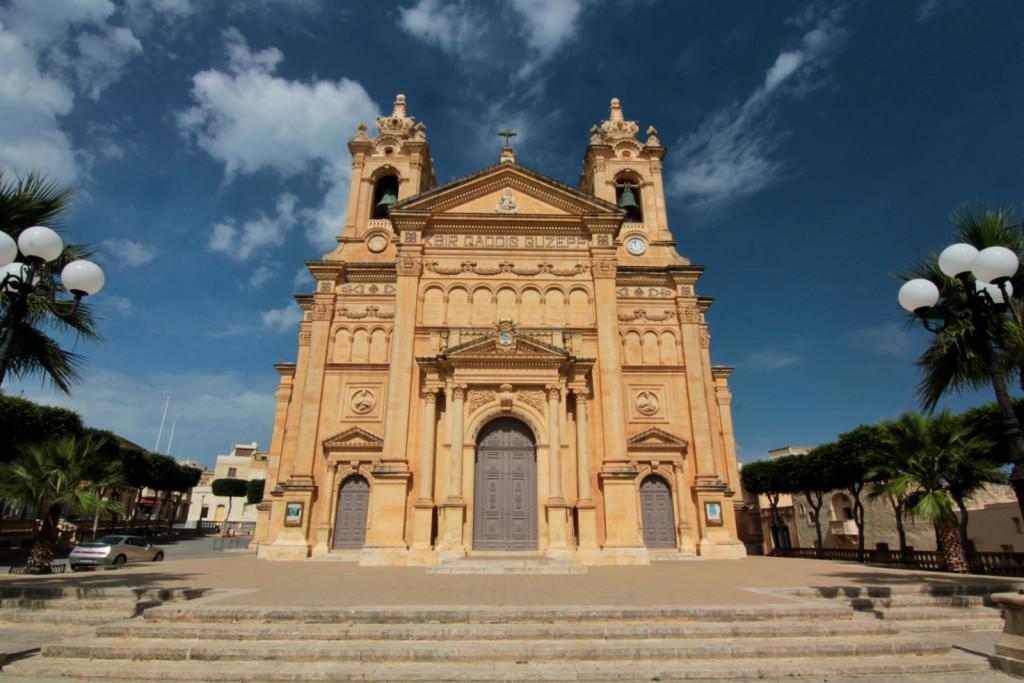 Malta: Qala Parish Church w Triq In Nadur Il-Qala, Gozo