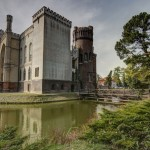 Zamek w Kórniku, widok z arboretum