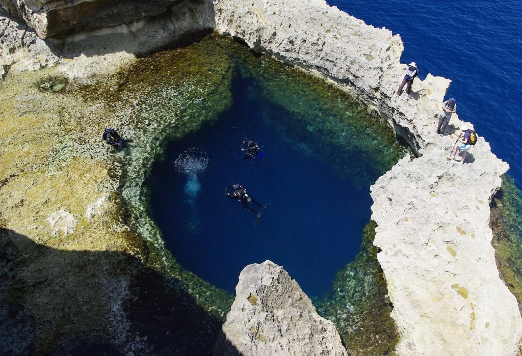 Dwejra: The Blue Hole, autor zdjęcia: Martin Lopatka