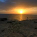 Dwejra: piękny zachód słońca