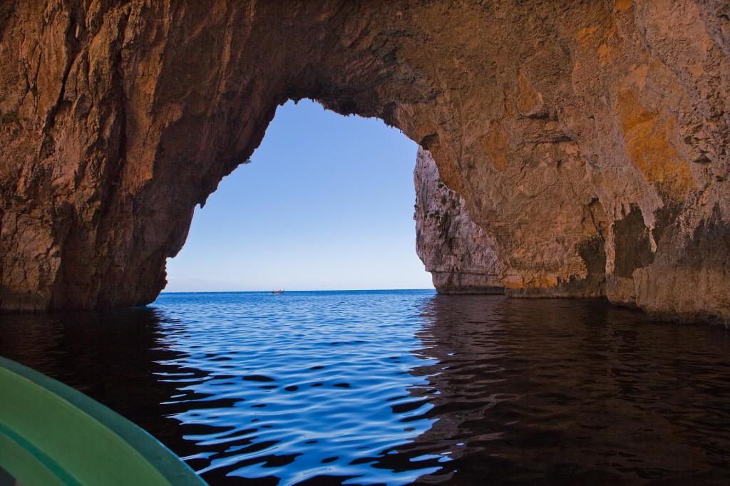 Malta: Blue Grotto; autor zdjęcia: Bengt Nyman
