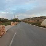 Malta: droga powrotna z Popeye Village